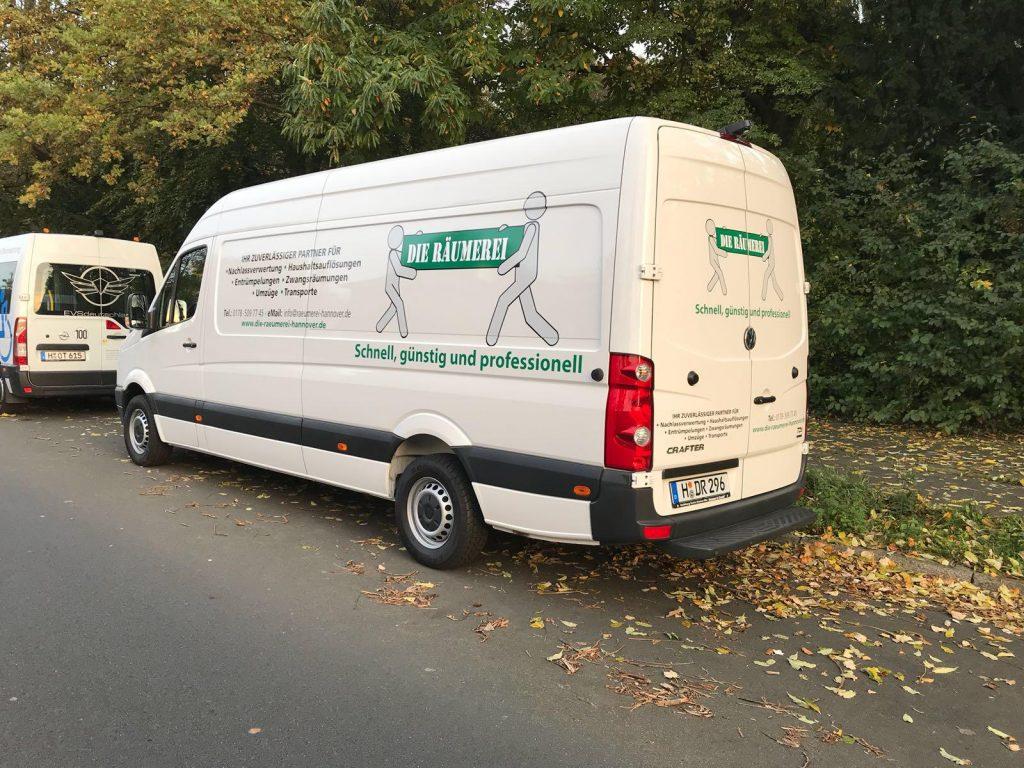 Transporter -  Die Räumerei Hannover